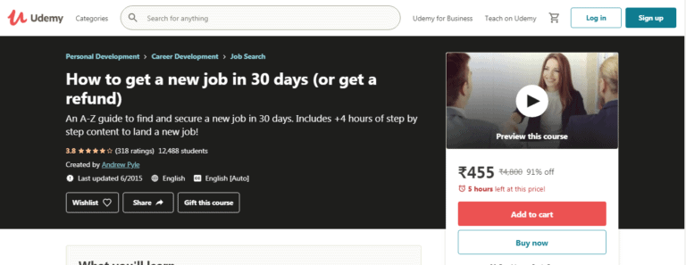 Can Udemy Courses Get You a Job
